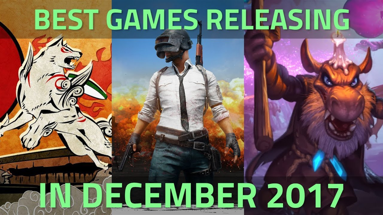 The Best Games Releasing in December 2017