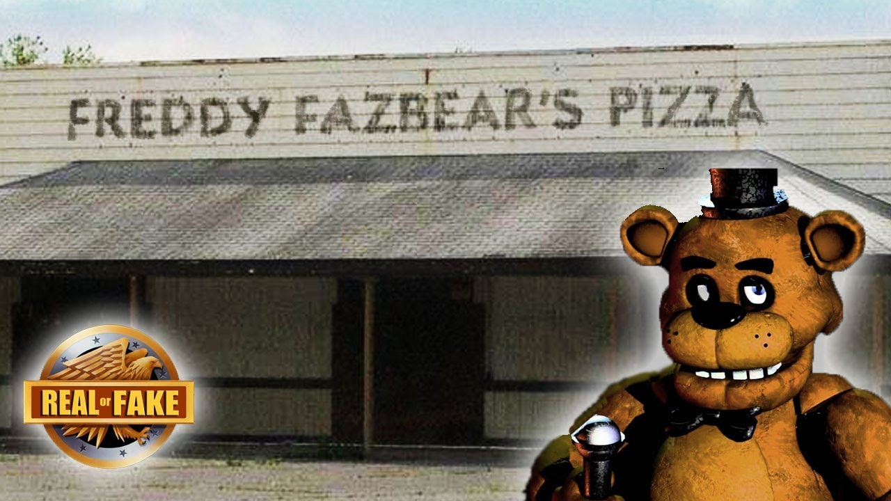 NEW FREDDY FAZBEAR'S PIZZA PLACE PROOF - Real or fake?