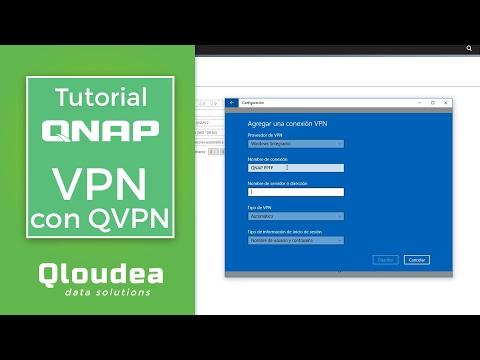 Configurar VPN con QVPN de QNAP - Tutorial