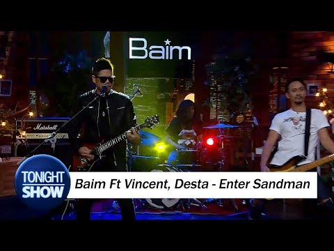download lagu Jamming Baim Ft Vincent Desta - Enter Sandman gratis