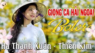 Tình Ca Hải Ngoại Giọng Ca Xưa | Hà Thanh Xuân Thiên Kim - Hoài Niệm Những Ký Ức Buồn Còn Mãi
