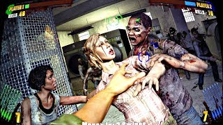 The AMC Walking Dead Arcade Game 2017 NEW Game! Awesome Gameplay, Graphics & Booth