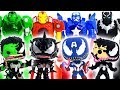 Marvel Toys Super Hero Squad   Super Hero Mech Armor Defeat Symbiote Avengers Venomized #Toymarvel