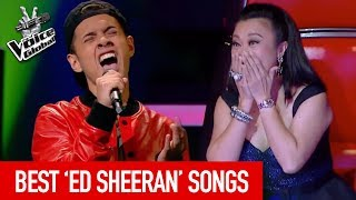 The Voice | BEST ED SHEERAN songs [PART 3]