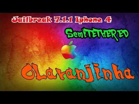 Jailbreak 7.1.1 . 7.1 SemiTETHERED IPHONE 4 Portugues Brasil!
