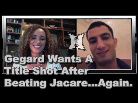 UFCs Gegard Mousasi Wants A Title Shot After Beating Jacare Again