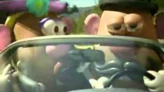 Bridgestone -  Mr Potato Head - 2009 Super Bowl Commercials