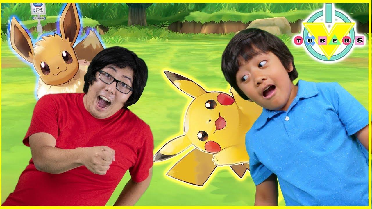 Ryan Plays Let's go Pikachu & Evee on Nintendo Switch