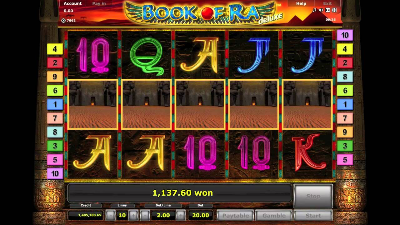 free online bonus slots book of ra flash