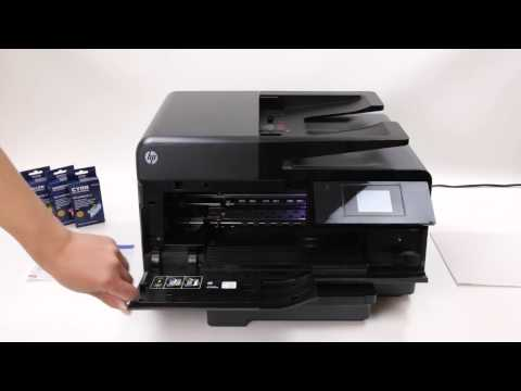 how to connect hp officejet pro 8610 to wireless network