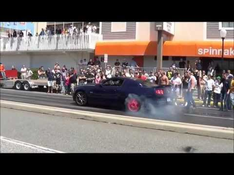 Cruisin Ocean City 2012 - UNreal Burnouts