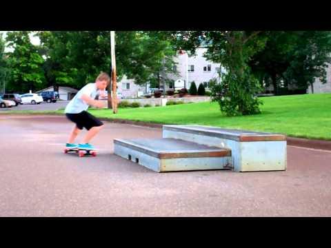 Sector 9 Super Shaka - Tricks in Slow Mo (Longboarding)