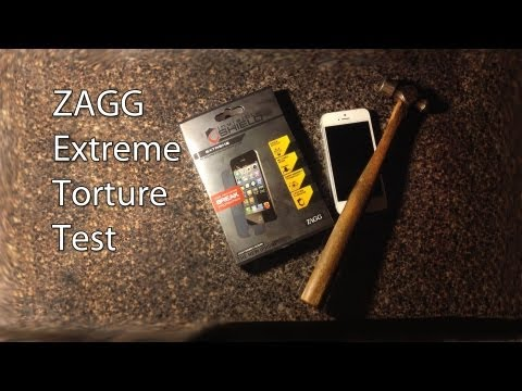 Video Response | ZAGG Extreme Invisible Shield Tourture Test - HD 1080p