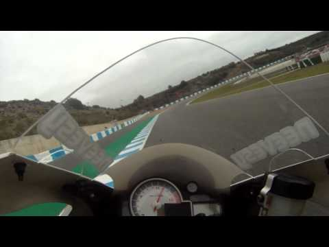 BMW S1000RR onboard at Jerez