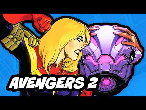 Avengers 2 Age Of Ultron - Captain Marvel Explained