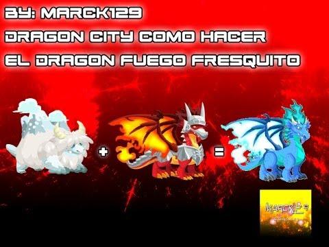 Dragon City Como Hacer el Dragon Fuego Fresquito