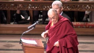 (Dalai Lama)  Full Beyond Religion Ethics for the Whole World  Speech  3/11/14