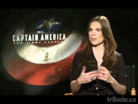 Hayley Atwell   Captain America Interview