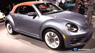 2019 Volkswagen Beetle Convertible - Exterior and Interior Walkaround - 2019 Detroit Auto Show