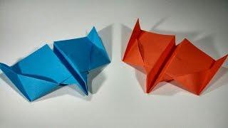 Avion de papel planeador - ShinyOrigami