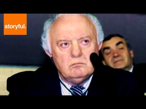 Georgian President Eduard Shevardnadze Dies At 86
