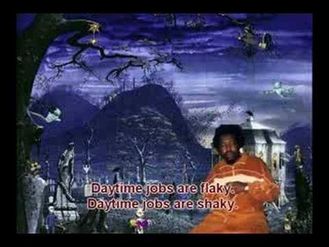 Afroman - Graveyard Shift ( with subtitles )