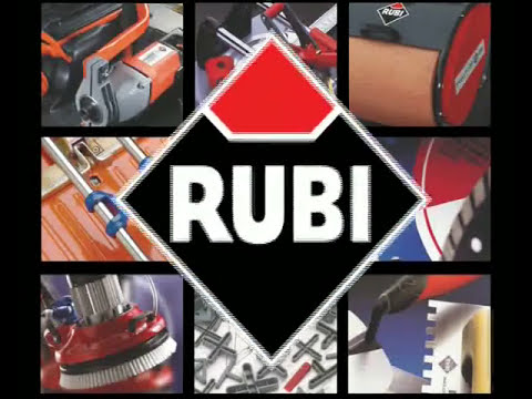 RUBI ND Cortadora de Cerámica Electrica Portátil /  Portable Electric Tile Saw