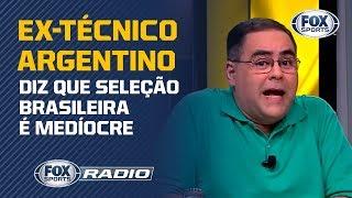 Eugênio Leal CALA ex-técnico da Argentina no FOX Sports Rádio!