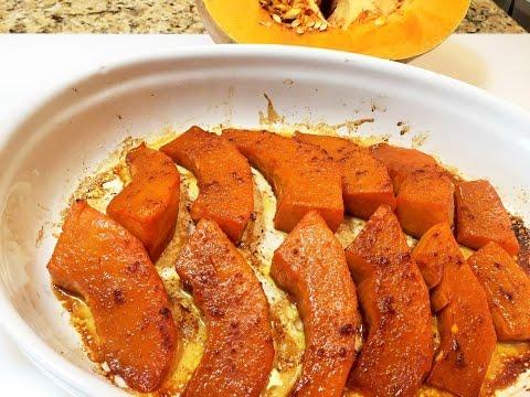 Тыква КАРАМЕЛЬНАЯ в духовке. Самый  простой рецепт. Pumpkin caramelized in the oven