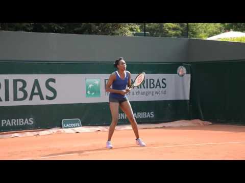 Venus Williams Practice - Roland Garros 2016 (HD)