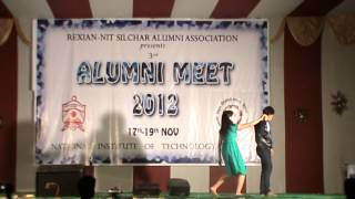 Dance Performance, NIT Silchar, Alum-ni Meet 2012.