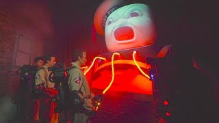 Ghostbusters maze at Halloween Horror Nights Universal Studios Hollywood