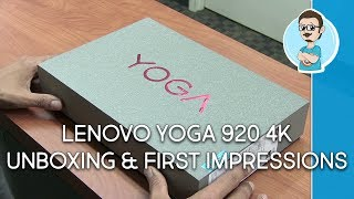 Lenovo YOGA 920 4K Unboxing & First Impressions!