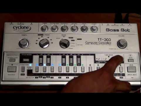How to Program a Bass Bot TT 303 - Demo 3