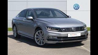 Volkswagen, PASSAT DIESEL SALOON, 2.0 TDI R Line 4dr DSG [Panoramic Roof] [7 Speed]