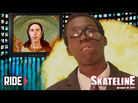 SKATELINE - Sheckler, Worlds Biggest Boobs, Oscar Meza and More!