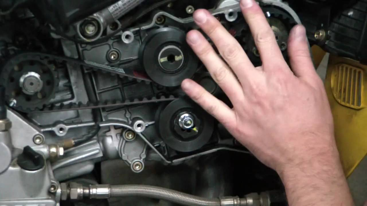 When To Change Timing Belt >> Ducatitech.com: Ducati 749/999 Timing Belt Change Part 2 ...