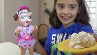 BABY ALIVE BUNK BEDS 2 Kid Dolls Sleepover Pie Fight Great Family Time