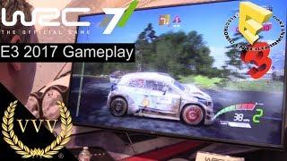 WRC 7 E3 2017 Corsica Preview Gameplay