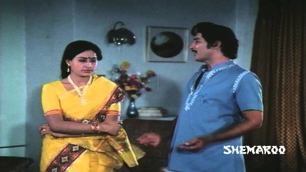 Sakkanodu comedy scenes - Vijayashanti telling Sobhan Babu ... | 1280 x 720 jpeg 77kB