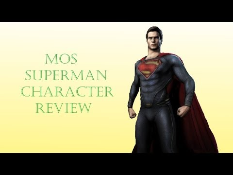 Injustice iOS - MOS Superman Character Review
