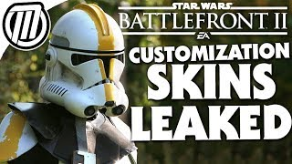 Star Wars Battlefront 2 Clone Trooper Customization Skins Leaked!