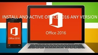 Office 2016 Install and Active On Windows 10 RTM
