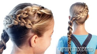 How To: Wrap Around Twistid Combo | Pretty Hair is Fun