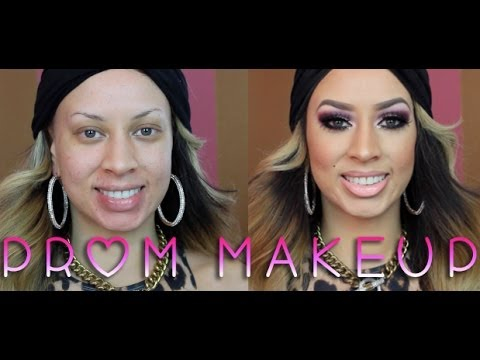 Barbie On A Budget: PROM 2014 Purple Makeup Tutorial!