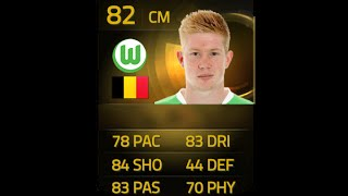 FIFA 15 IF DE BRUYNE 82 Player Review & In Game Stats Ultimate Team