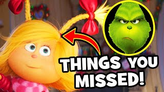 17 EASTER EGGS You Missed in THE GRINCH!