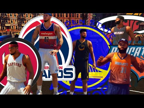 NBA 2K14 PS4 : Park All-Star Dunk  Contest