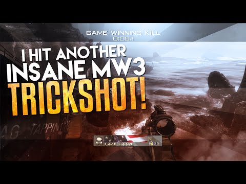 I HIT ANOTHER INSANE MW3 TRICKSHOT!
