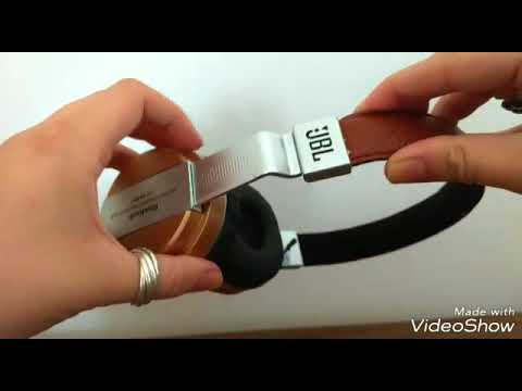 Fone Bluetooth Jbl Headfone Estéreo Sem Fio Mp3